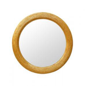 1930's Giltwood Round Mirror
