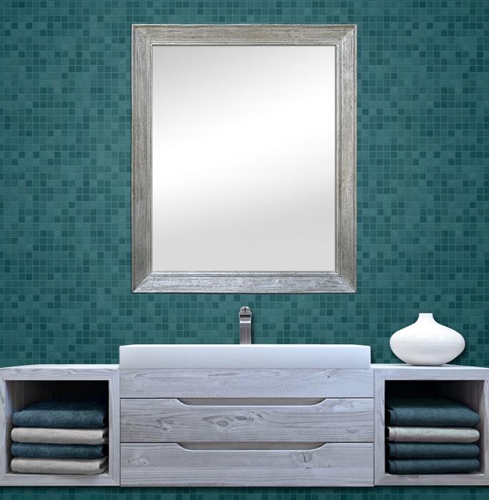 1950s-large-silvered-wood-bathroom-mirror