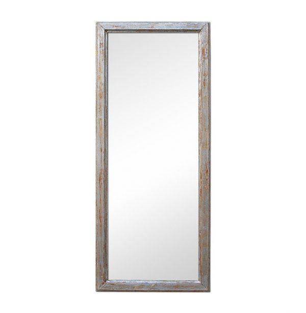 Aged Silverwood Wall Mirror, circa 1960