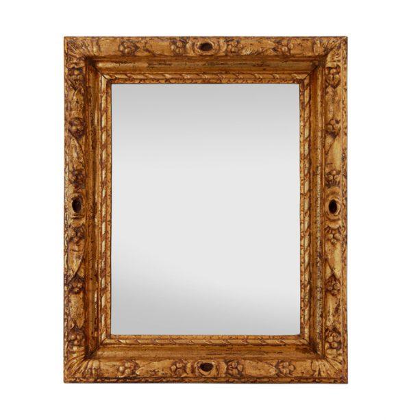 French Antique Giltwood Mirror, circa 1930