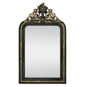 French Antique Napoleon III Style Mirror, 19th Century