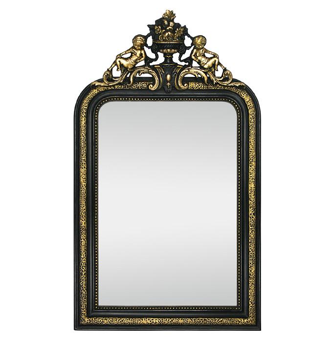 French-Antique-Napoleon-III-Style-Mirror-19th-Century