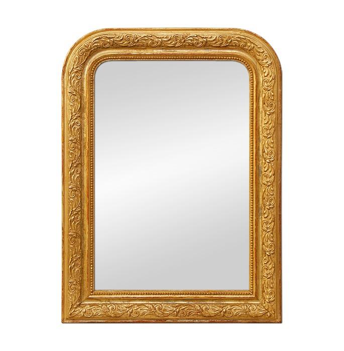 Louis-Philippe-style-giltwood-mirror-circa-1900