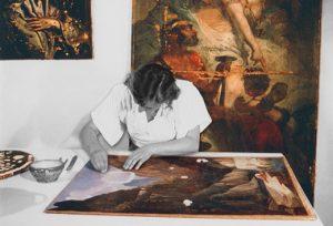 annie-leniau-oil-painting-restoration-paris-france