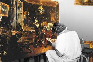 annie-leniau-painting-restoration-paris