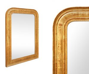 antique-Louis-Philippe-mirror-gilding-to-the-gilt-leaf