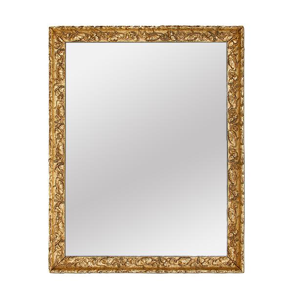 Antique French giltwood mirror, Art Deco style, circa 1930