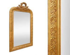 antique-french-giltwood-mirror-leaves-pearl-decorations
