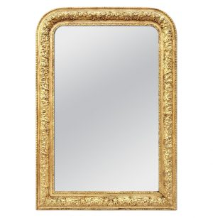 Antique French Giltwood Mirror Louis-Philippe Style, circa 1900