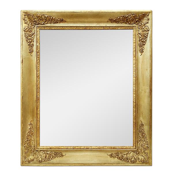 Antique French Giltwood Mirror, Restoration Period, circa 1820