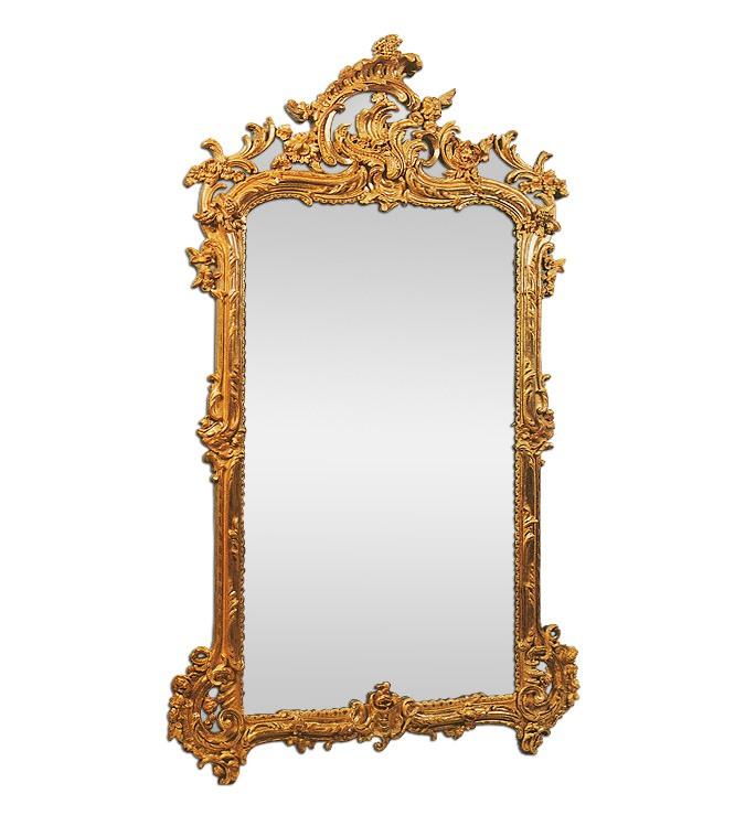 antique-french-mirror-louis-xv-style