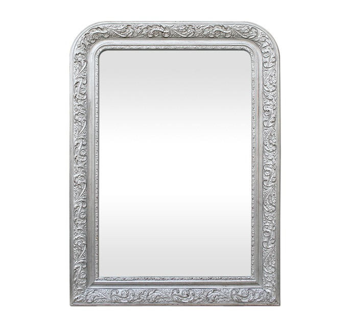 antique-french-mirror-silver-wood-louis-philippe-style