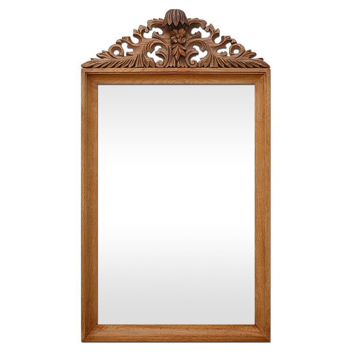 antique-french-mirror-with-carved-wood-pediment