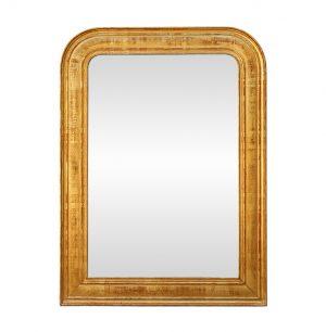 Antique Giltwood Louis-Philippe Style Mirror, circa 1900