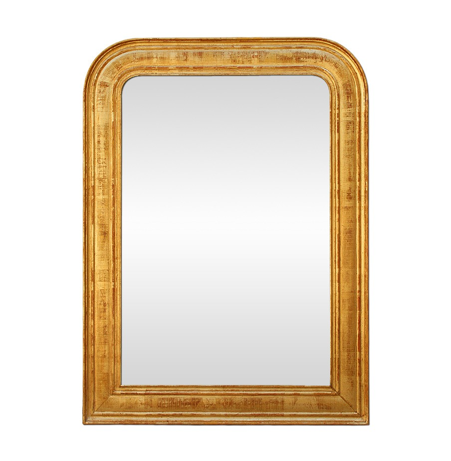 antique-giltwood-Louis-Philippe-style-mirror