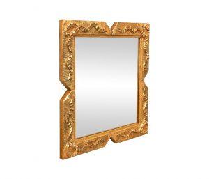 antique-giltwood-Napoleon-III-style-square-mirror