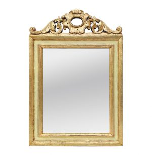 Antique Giltwood Mirror, French Provincial Style, circa 1935