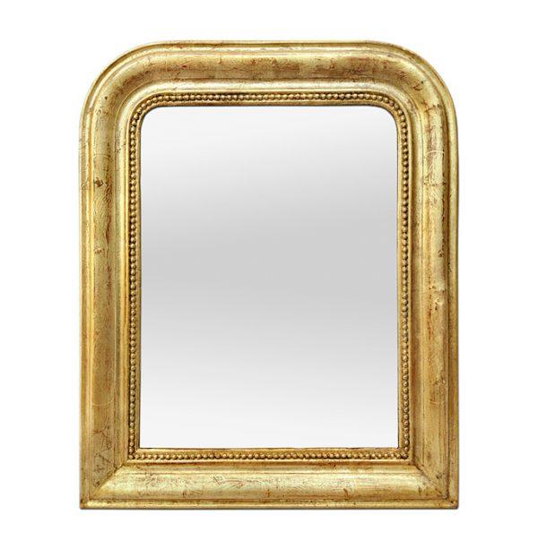 Antique Giltwood Mirror Louis-Philippe Style, circa 1890