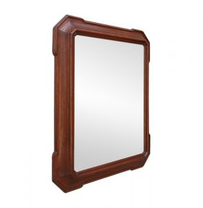 antique-mahogany-dark-stained-wooden-mirror