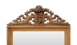 antique-mirror-hand-carved-wood-pediment