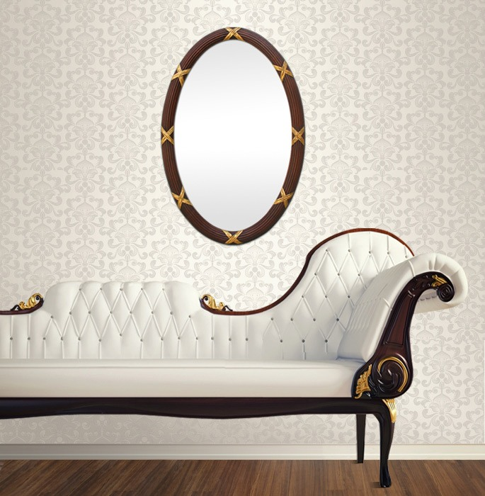 antique-oval-wall-mirror-classic-home-decor