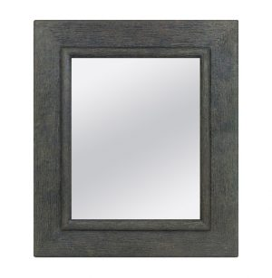 Anthracite, Contemporary Mirror by Pascal & Annie