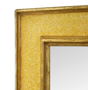 detail-contemporary-mirror-by-Pascal-and-Annie-yellow-colors-and-gilding