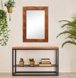 exotic-antique-wood-mirror
