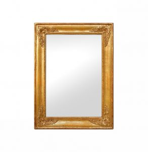 French Restoration Style Giltwood Mirror, 19th Century