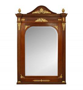 french-antique-empire-mirror-mahogany
