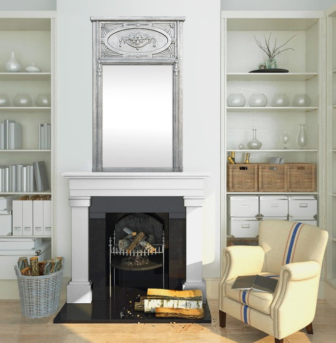 french-antique-fireplace-mirror-modern-style-trumeau-mirror-silver-leaf