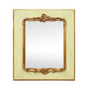 French Antique Romantic Mirror, Louis XV Style