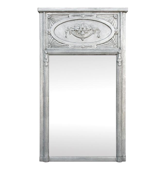 french-modern-style-trumeau-mirror-silver-leaf-circa-1910