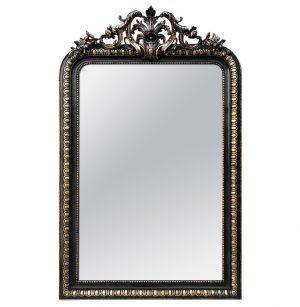 Large Antique French Mirror, Napoleon III Period, circa 1870