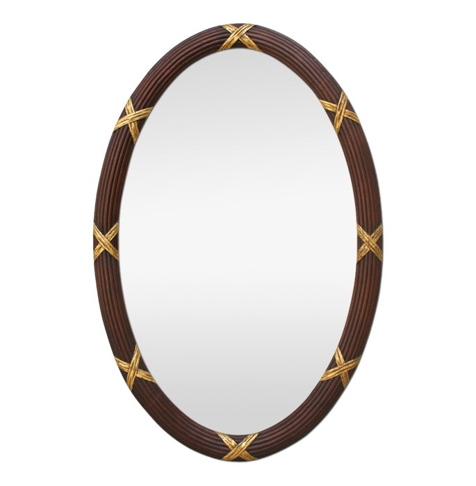 large-antique-oval-mirror-carved-wood-and-gilding-circa-1950