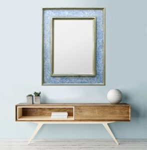 large-contemporary-wall-mirror-blue-polychrome-silvered