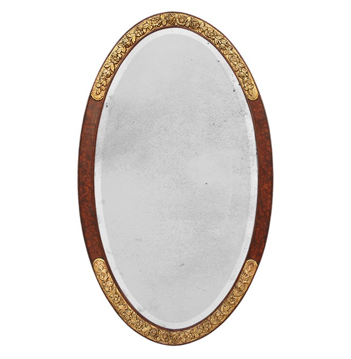 large-french-antique-oval-mirror-circa-1925