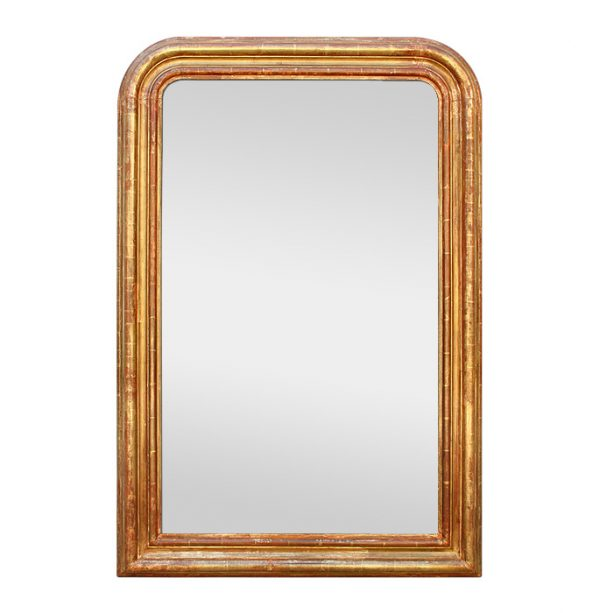 Large Giltwood Wall mirror Louis-Philippe Style, 19th Century