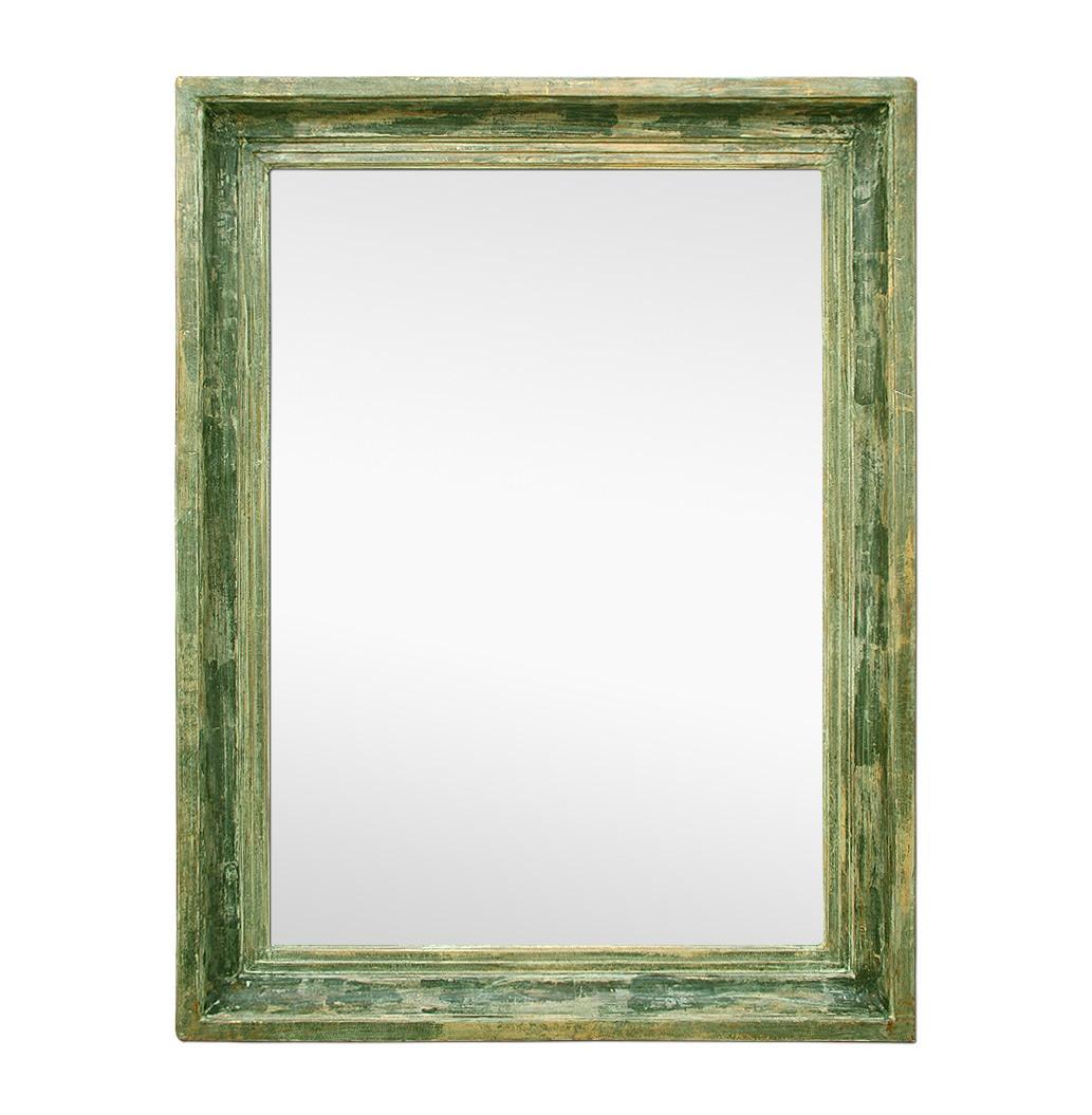 large-green-patinated-Barbizon-style-antique-mirror