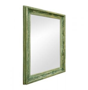 large-green-patinated-antique-french-mirror