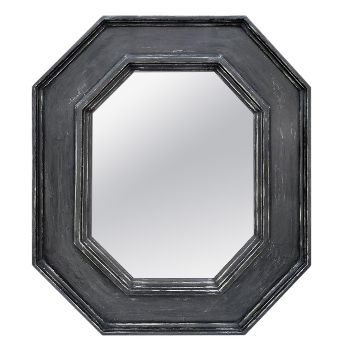 octagonal-wall-mirror-slate-grey-color-by-Atelier-RTCD-Paris
