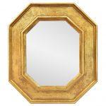 Octogonal Giltwood Wall Mirror by Atelier RTCD – Paris